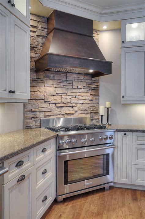 Kitchen Stone Backsplash Fusion Stone