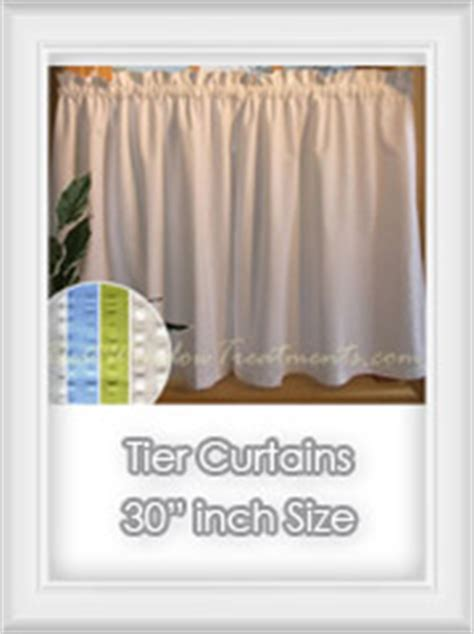 Kitchen Curtains 30 Inch Length Cafe Curtains 30 Inch Length Curtain Menzilperde Net