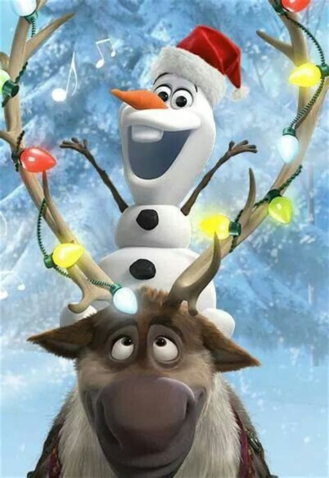 wallpaper christmas olaf olaf and sven christmas frozen pinterest merry
