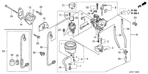 honda generator parts diagram honda eu2000i generator parts wiring diagrams wiring diagram