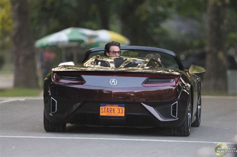 volkswagen sports car in avengers acura nsx roadster from the avengers teases open top