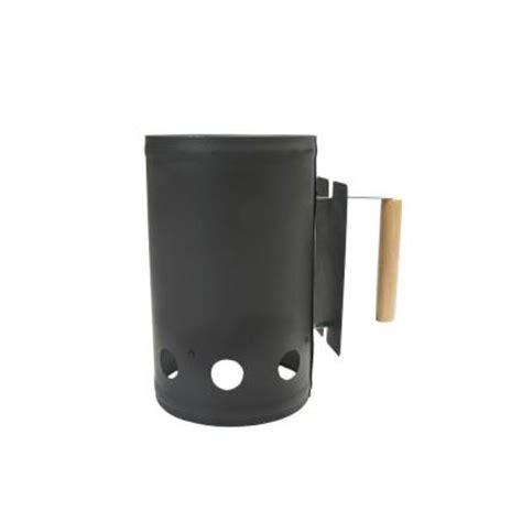 charcoal companion black chimney starter cc4041 the home