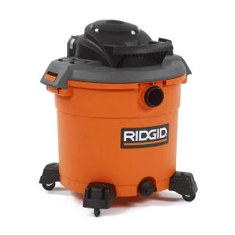 ridgid 16 gal 5 0 peak hp vac wd1640 the home depot