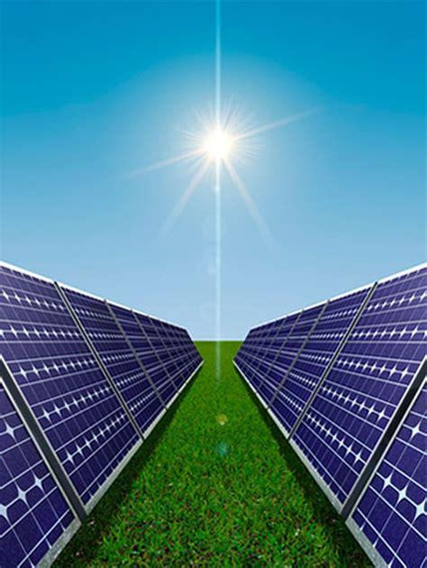 sistema de energia solar inedito pode ser instalado em