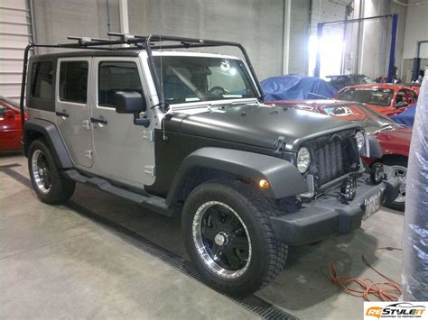 jeep vinyl wrap jeep wrangler matte black vinyl wrap vehicle