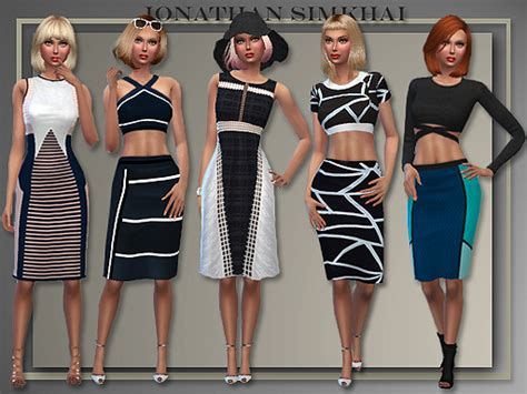 design clothes the sims 4 j s 5 whole casual outfits by judie at all about style