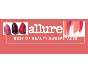 allure magazine best of beauty sweepstakes sweepstakes and more at topsweeps com - Allure Magazine Sweepstakes