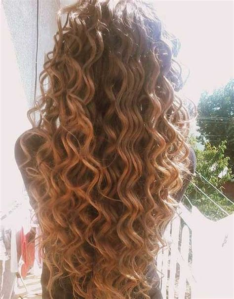 27 new curly perms for hair long hairstyles 2016 2017