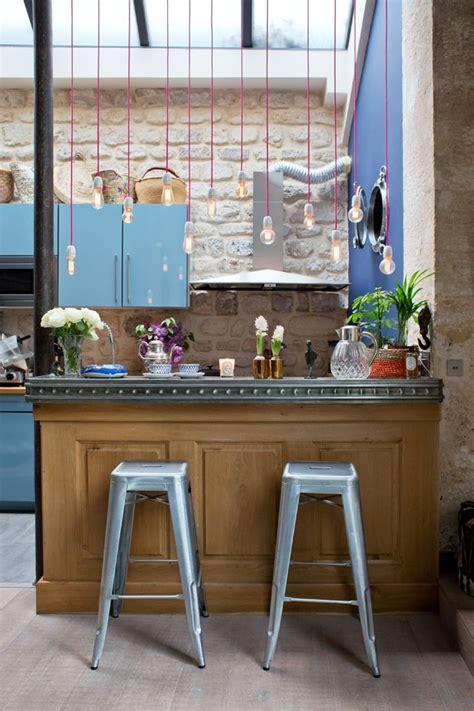 Meuble Cuisine Cagne Chic by Les 25 Meilleures Id 233 Es Concernant Comptoir Bar Sur