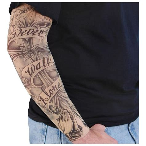 fake tattoo sleeve 30 best real looking temporary tattoos images on
