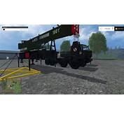 KAMAZ CRANE PACK V10 LS15  Farming Simulator 2015 / 15 Mod