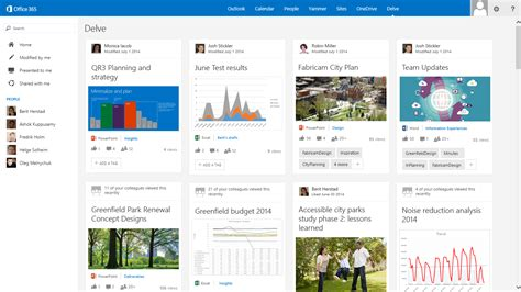 Office 365 Delve Delve Office Graph Must Transcend Office 365 To Be