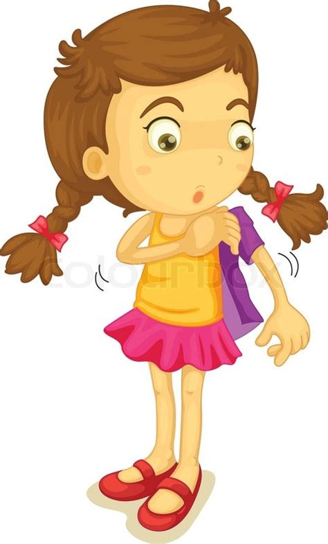 i was dressed as a girl by someone group with personal girl getting dressed stock vector colourbox