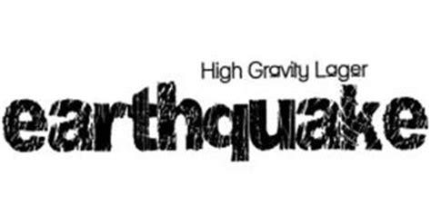 earthquake high gravity lager earthquake high gravity lager trademark of phusion