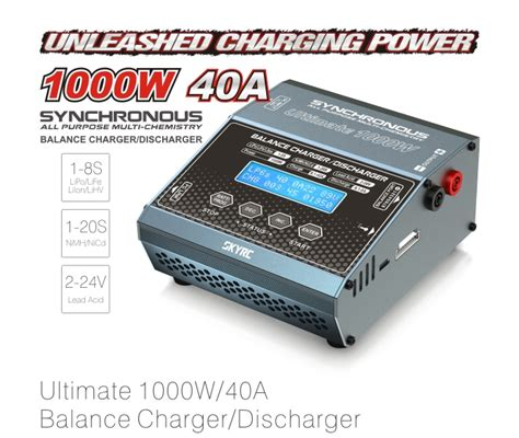 lipo charger with storage mode skyrc synchronous ultimate dc charger 1000w sky100069