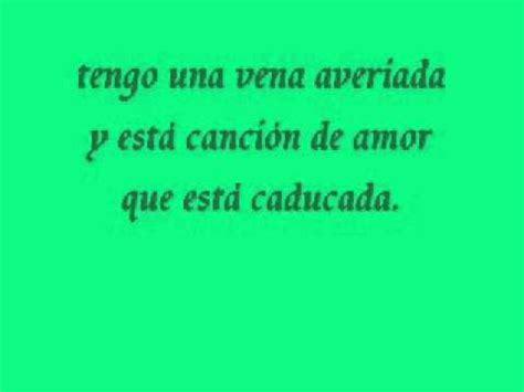 canciones de amor a 8415625995 melendi cancion de amor caducada letra youtube