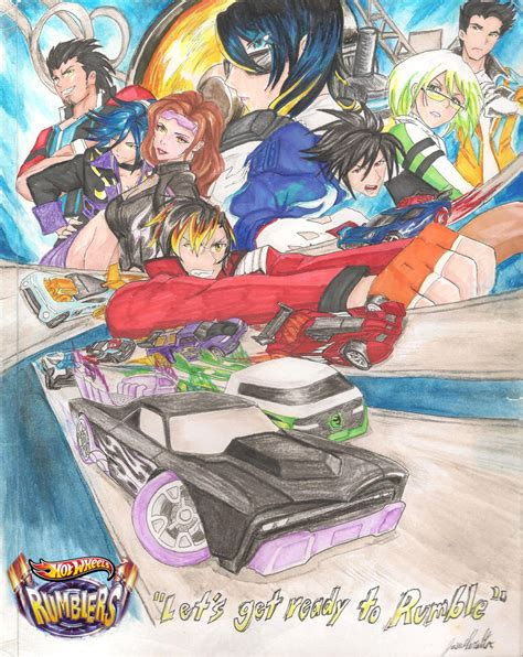 hot wheels anime hotwheels acceleracers drive to survive artwork by fast