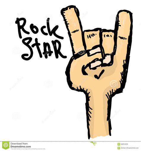 doodle god 2 rock n roll vector doodle sign rock n roll stock vector