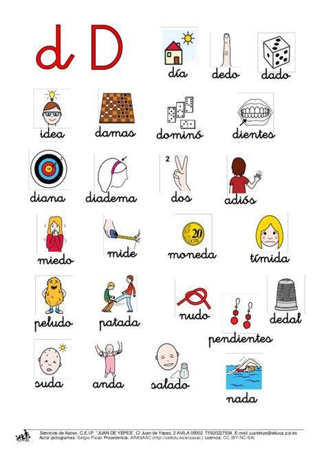Imagenes De Palabras En Ingles Que Empiecen Con A | pre escolar quot un mundo de ilusiones quot palabras con la d