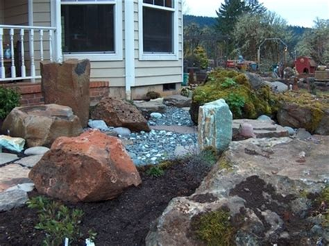 Landscape Rock Albany Oregon Landscaping Project Idea Garden And