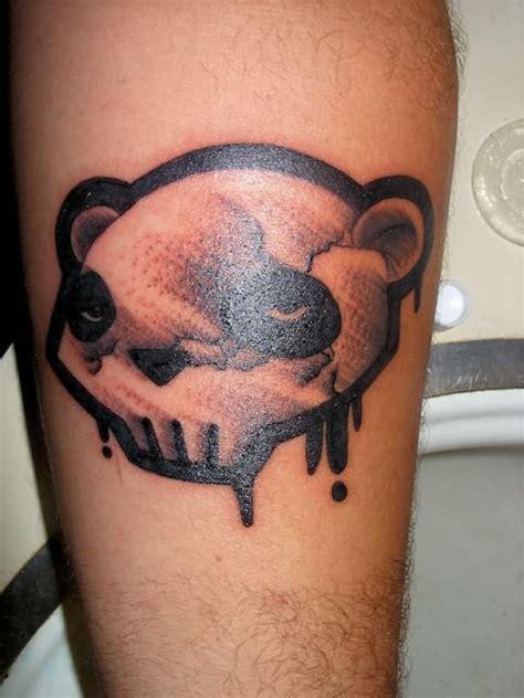 panda face tattoo dangerous panda face tattoo