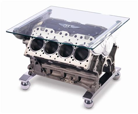 V8 Engine Block Coffee Table Tables Idesignarch Interior Design Architecture Interior Decorating Emagazine