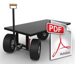 Utility cart full suspension garage amp shop ideas pinterest