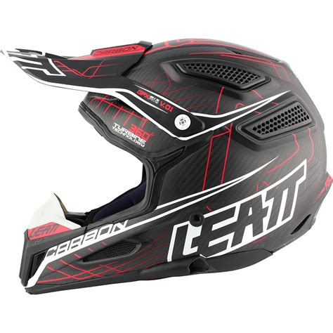 carbon fiber motocross helmets leatt new 2017 mx gpx 6 5 carbon fiber v01 red white black