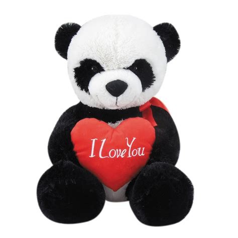 stuffed animals valentines day sitting panda shop your way shopping earn