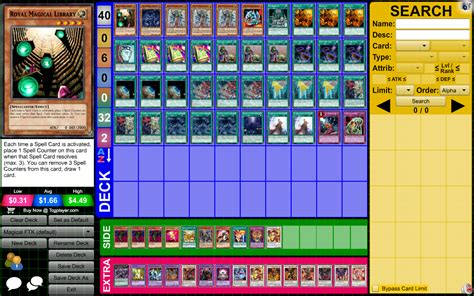 royal magical library deck monarch magical explosion ftk yu gi oh forum