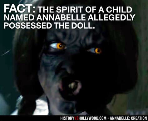 annabelle doll based on true story is annabelle 2 creation a true story the doll reveals the