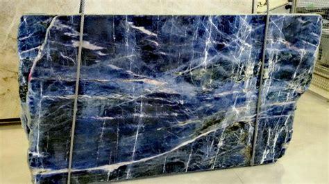 new blue sodalite marble slabs