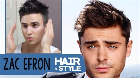 how does zac efron stylers hair in neighbors zac efron hairstyle 2014 how to dress dre drexler