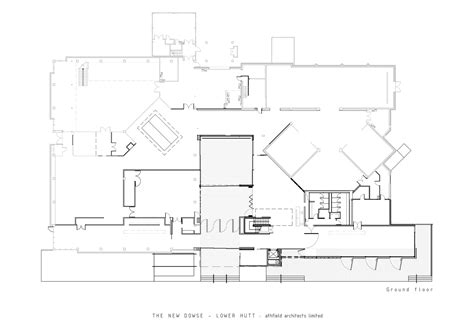 new museum floor plan the new dowse art museum athfield architects archdaily