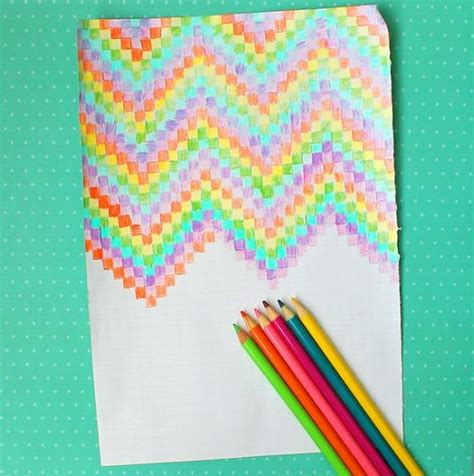 Cool Arts And Crafts With Paper - easy graph paper for for paper and