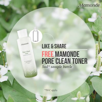 Harga Clean And Clear Toner free mamonde pore clean toner 5ml sle like