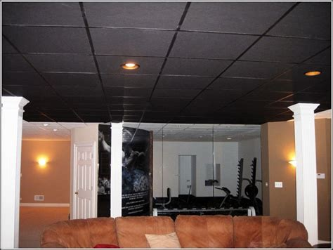 Black Suspended Ceiling Tiles by Best 25 Drop Ceiling Tiles Ideas On Replacing