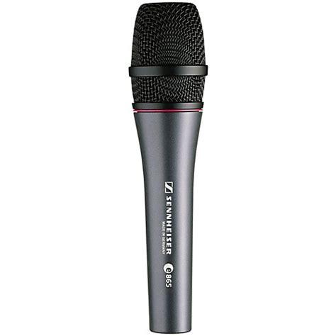 condenser microphone guitar sennheiser e865 condenser microphone guitar center