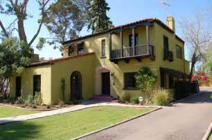 Spanish Colonial Homes by Spanish Colonial Architecture In Phoenix Arizona