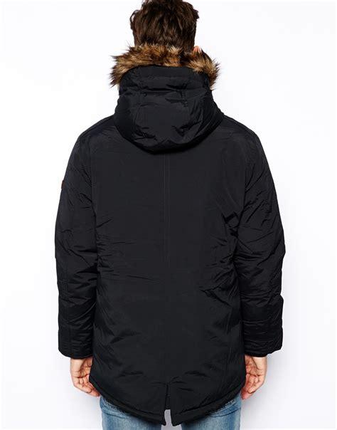 Parka Esprit esprit parka jacket with in black for lyst