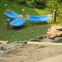 idea for hammocks gardening patio