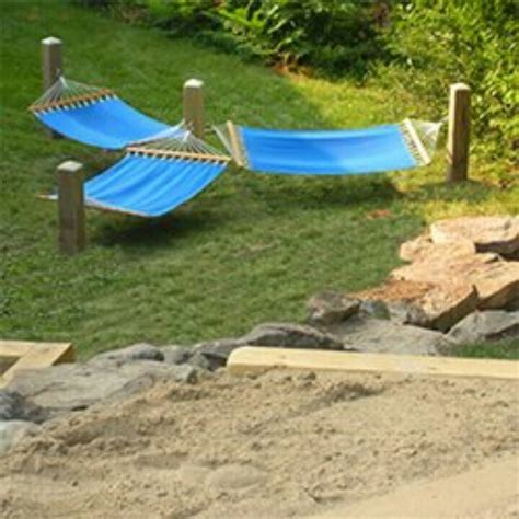 Hammock Ideas Backyard by Idea For Hammocks Gardening Patio