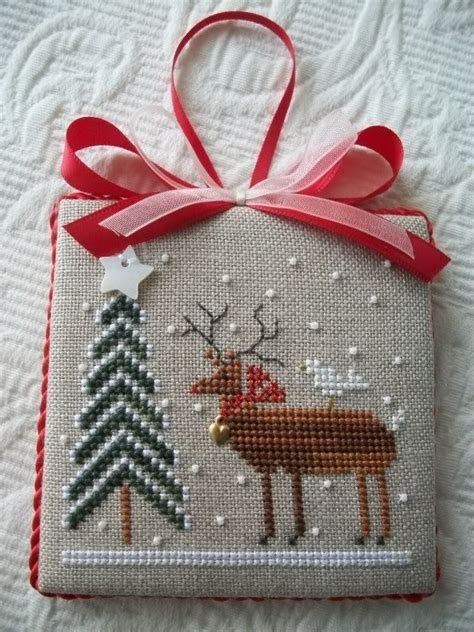 25 awesome cross stitch christmas ornaments ideas magment
