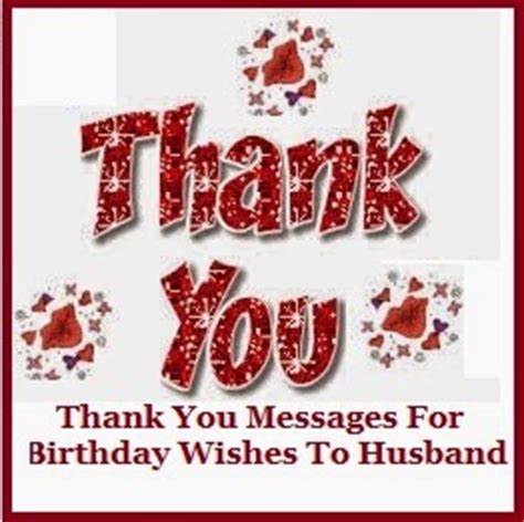 thank you letter to husband on birthday thank you messages thank you messages for birthday