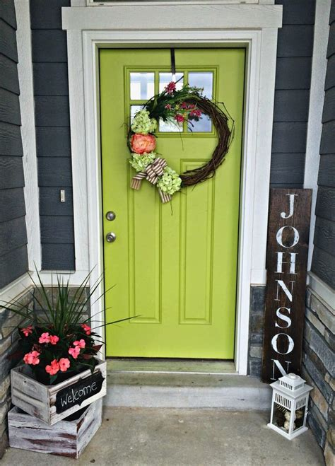 door deco bright u0026 cheery door decor