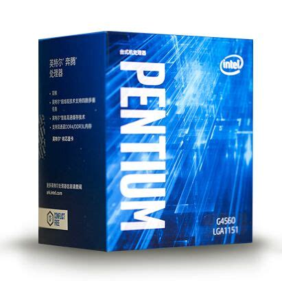 Intel Pentium G4560 3 5ghz Cache 3mb Box Socket Lga 1151 Kabylak Original Intel Pentium G4560 Processor 3mb Cache 3 50ghz