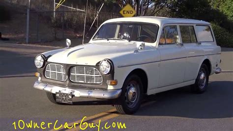 volvo amazon  station wagon  classic estate break  sale walk  video youtube