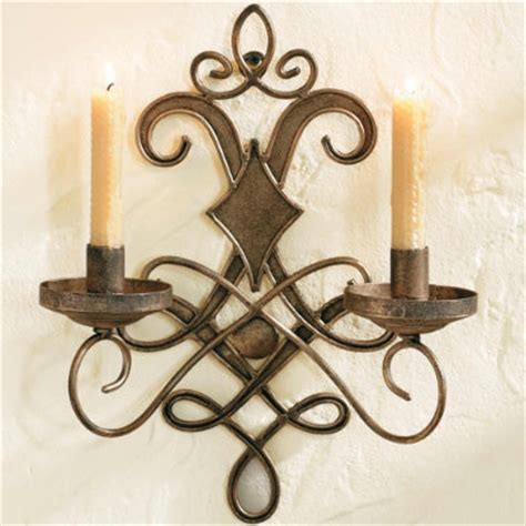 Wrought Iron Sconces Wall wrought iron wall sconce traditional wall sconces by ballard designs
