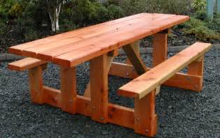 Plans To Build A Octagon Picnic Table by 24 Picnic Table Designs Plans And Ideas