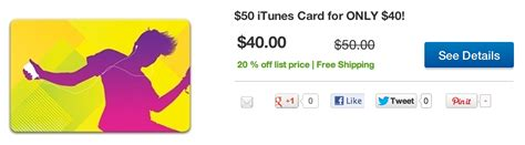 Gift Cards Pay With Paypal - more 20 off itunes gift cards pay with paypal tax free or pick up at best buy 9to5mac